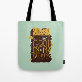 My neighborhood Tote Bag