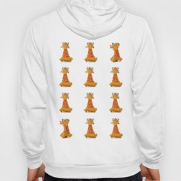 Orange Giraffe Hoody