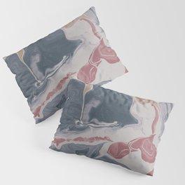 Abstract Liquid Geode Pillow Sham