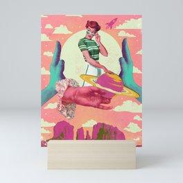 VINTAGE SPACE PROGRAM Mini Art Print