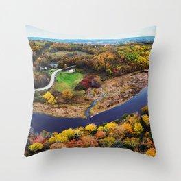 Acacia Valley Panorama Throw Pillow