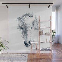 Cute Ponyface Wall Mural