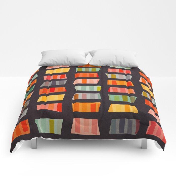 BEACH TOWELS ON BASALT Comforters
