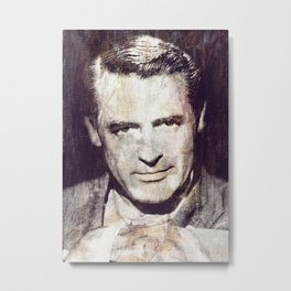 Idols - Cary Grant Metal Print