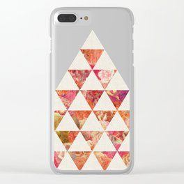 FLORAL FLOWWW Clear iPhone Case