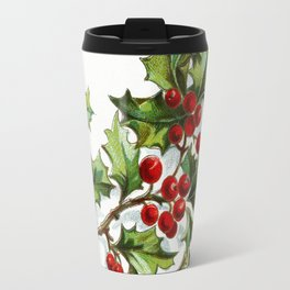Holly Berries 001 by JAMFoto Travel Mug