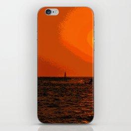kitesurfing iPhone Skin