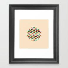 Circles Circle Framed Art Print