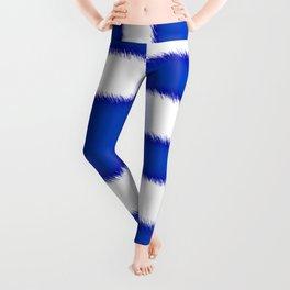 Greek flag Leggings