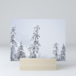 Snowy Snoqualmie Pass Mini Art Print