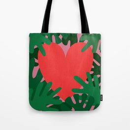 Wild Does My Love Grow Tote Bag