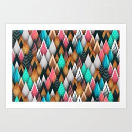 Abstract Background 269 Art Print