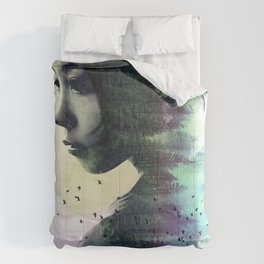 Contemplation Forest Comforters