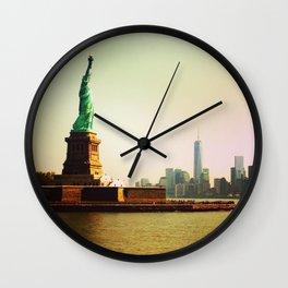 Freedom & Liberty Wall Clock