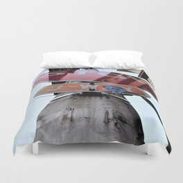 Small Town Vibes 2 Duvet Cover