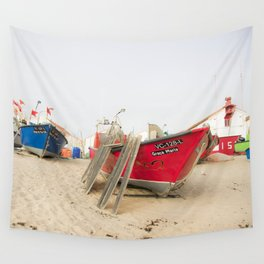 Fishing boats II Wall Tapestry