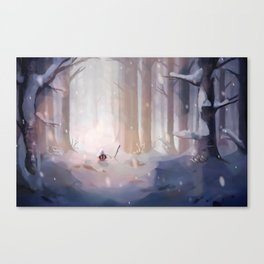 WANDER - Merry Winter Canvas Print
