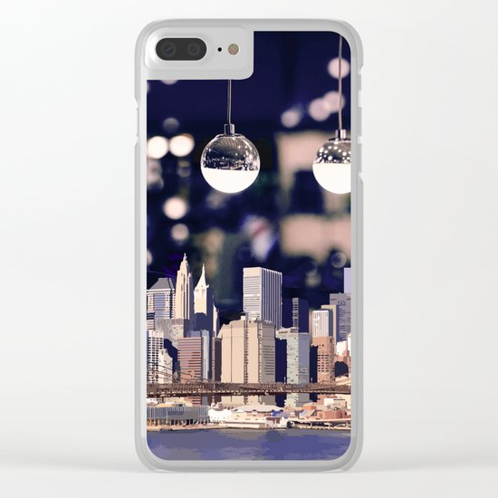 Spotlight on New York Clear iPhone Case