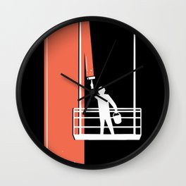 Facade Painter  Wall Clock