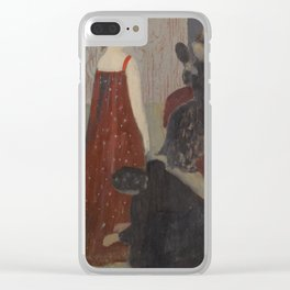 Maurice Denis 1870 - 1943 The FITTING Clear iPhone Case
