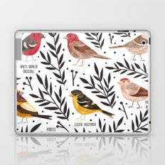 Finches of North American Field Guide Laptop & iPad Skin