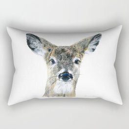 Doe Eyes by Teresa Thompson Rectangular Pillow
