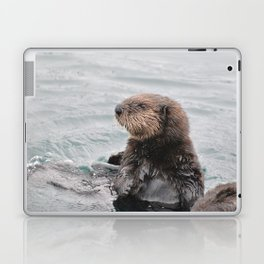 Otterly adorable Laptop & iPad Skin