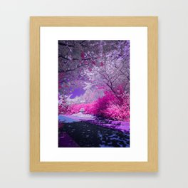 Cranberry Corner Framed Art Print