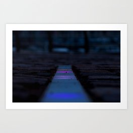 Floor lights Art Print