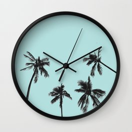 Palm trees 5 Wall Clock