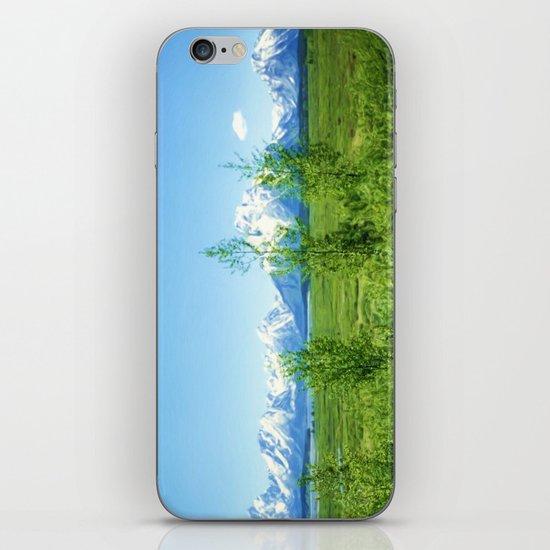 Spring Tetons iPhone & iPod Skin