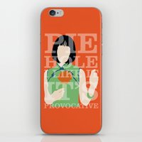 pushing daisies iPhone & iPod Skins featuring Pushing Daisies - Vivian by MacGuffin Designs