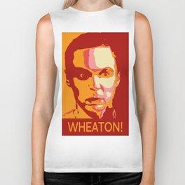 WHEATON! Biker Tank