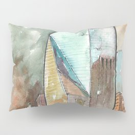The Fountain Place Pillow Sham
