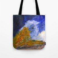 fear and loathing Tote Bags featuring Fear and Loathing by Tonya Doughty