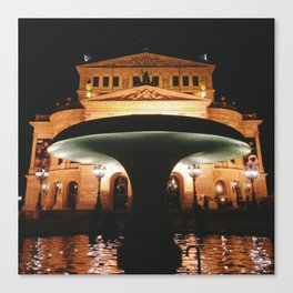 Old Opera House Frankfurt Canvas Print