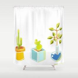Cutie Cacti Shower Curtain