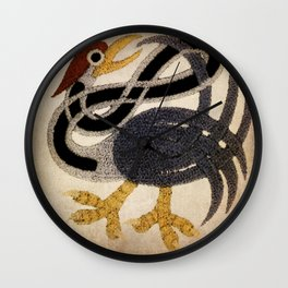 Celtic Heron Wall Clock