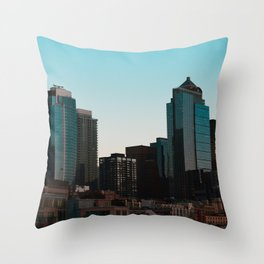 Seattle pt. 2 Throw Pillow