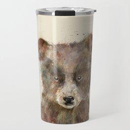 little brown bear Travel Mug