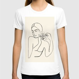 Minimalist Abstract Woman III T-shirt