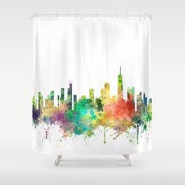 Chicago, Illinois Skyline SP Shower Curtain