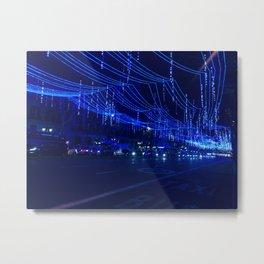 nightblue light Metal Print