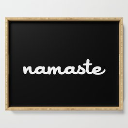Namaste (Brush) Serving Tray