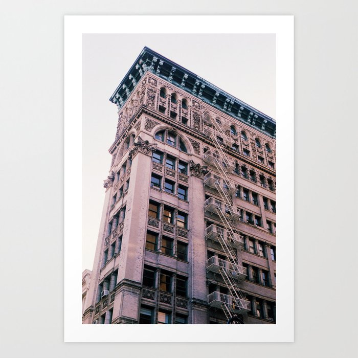 """""""New Yorkers Don't Look Up"""" Art Print"""