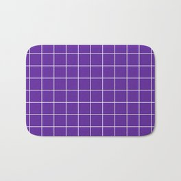 Grape Grid Bath Mat