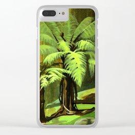 Tree Ferns Darwin Clear iPhone Case