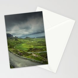 The Quiraing Road Stationery Cards
