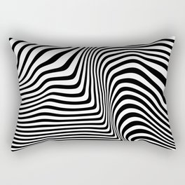Abstract Lines Rectangular Pillow