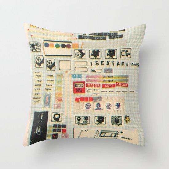 sextape Throw Pillow